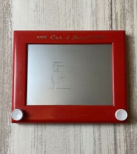 Vintage Magic Etch A Sketch Screen Creative Toy Another Creation By Ohio Art