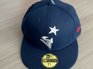 """New England Patriots New Era NFL 5950 Men's Fitted Hat Size 7 3/4"""""""