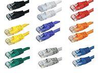 Cat6 Stranded UTP LAN Internet Network Ethernet (Cat-6) Cable Cord  RJ45  1-25ft