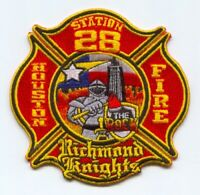 "fire patch Houston Station 45  /""45/'s House/"" 4.5/"" round size Texas"