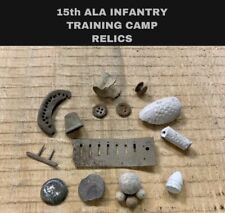 New listing Soldier Relics dug At Training Camp Of 15th Alabama Infantry Csa