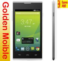 Brand New Unlocked Telstra Tempo ZTE T815 3G White Mobile Phone Smartphone