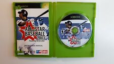 XBox All-Star Baseball 2004 Featuring Derrk Jeter COMPLETE - FAST FREE SHIPPING!