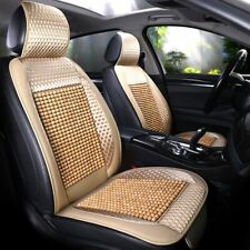 Car Seat Cover Cushion Message Wooden Bead Cool Refreshing Suitable for Summer