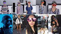 Large Shield Aviator Oversized Mirrored Sunglasses Women Fashion Reflective Lens
