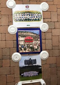 Lot of 3:  Chicago Cubs Wrigley Field posters: All Century & 1998 teams; marquee