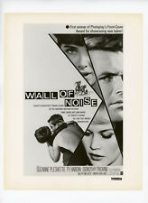 WALL OF NOISE Original Movie Still 8x10 Poster Art Style Ty Hardin 1963 0660