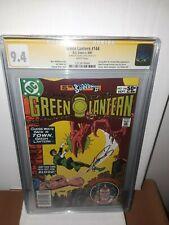 Signed Green Lantern #144 CGC SS 9.4 NM (1981) George Perez - Adam Strange App