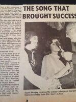 K3-3 Ephemera 1974 Picture Article Susan Mingay Margate Talent Finals
