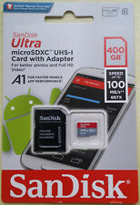 Genuine SanDisk Ultra 400GB Micro SD Memory Card SDXC UHS-I Class 10 100MB/s