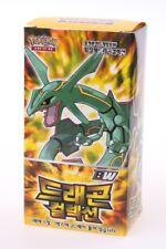 Pokemon Trading Card Game / Booster Box / Korean / Dragon Collection