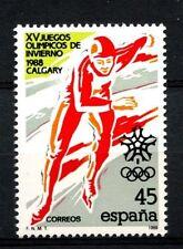 España 1989 Sg # 2946 Juegos Olímpicos de Invierno Mnh #a 23322