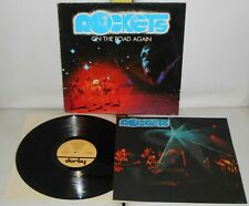 LP ROCKETS On the road again (Derby 78 ITALY) Cosmic space disco poster VG+