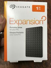 Seagate Expansion Portable 1TB, External, 2.5 inch (STEA1000400) Hard Drive