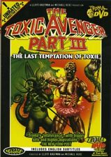 The Toxic Avenger, Part III: The Last Temptation of Toxie [New DVD] Director's