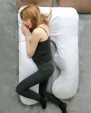 Pregnancy Full Body Pillow U Shaped Pillow for Pregnant Women With Cotton Cover