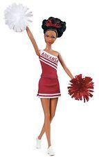 Barbie Collector University of Arkansas African-American Cheerleader Razorbacks