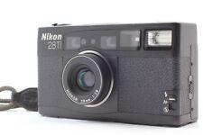 【Mint】Nikon 28Ti Black Point & Shoot Film Camera from JAPAN #544