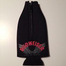 BUDWEISER King of Beers Motorcycle Wings Beer Bottle Suit Coolers Koozie NEW