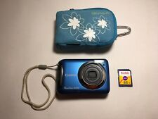 Canon PowerShot A495 10.0MP Digital Camera (Blue)  with Case + 4gb Memory Card