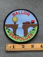 Ballon Verfolger Hot Air Balloon Patch C9