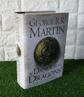 A Dance With Dragons GOT Hardback Book George R. R. Martin 1st Edition 1st Print