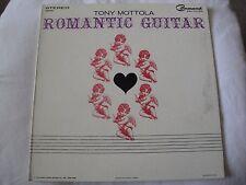 TONY MOTTOLA ROMANTIC GUITAR VINYL LP 1963 COMMAND RECORDS TENDERLY, SPEAK LOW