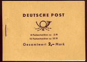 (422) DDR Markenheftchen Ulbricht 4c3a