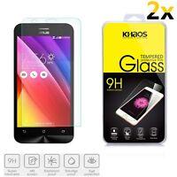 2x KS Premium Tempered Glass Screen Protector For Asus ZenFone 2 Laser ZE551KL