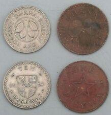 Ghana 1 + 10  Pesewas 1967 ss-vz / vf-xf