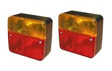 2 x DKB- Universal Rückleuchte für KFZ Anhänger Heckleuchte Anhängerbeleuchtung