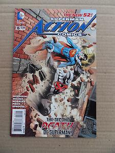 Action Comics (vol 2) 16 .   DC 2013 -   VF - minus