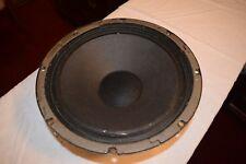 """Vintage Becker 12"""" Raw Speaker Woofer Alnico 4.4 ohms"""