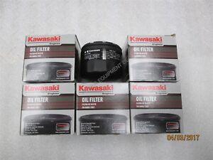 Genuine OEM Kawasaki Filter-Oil 49065-0721 6 Pack 49065-0721, 49065-7007