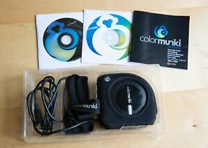 X-Rite ColorMunki Photo Calibration device for monitor and printer-pre-owned