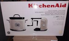 KitchenAid FRULLATORE A IMMERSIONE CLASSICO CON BARATTOLO Graduate-Bianco