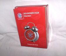 FC Bayern München  Wecker Glockenwecker Neu,OVP,Lizenzware