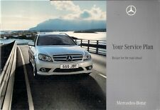 Mercedes-Benz Fixed Price Service Plans 2008 UK Market Sales Brochure