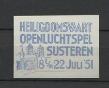 Netherlands cinderellas #193 - Open air play Susteren 1951