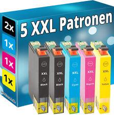 5x TINTE PATRONEN für Epson XP245 XP342 XP442  XP235 XP332 XP335 XP432 XP435 Set
