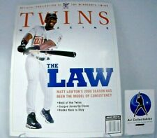 2000 MINNESOTA TWINS MAGAZINE VS WHITE SOX LOT OF 2
