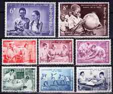 1960   BELGIQUE    Y & T   N° 1139 à 1146  Neufs*  AVEC CHARNIÈRE