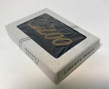 Sealed Deck Poker Playing Cards James Bond 007 Liberty Crusader Plastic Coated