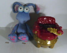 WOTWOTS ZOOM ALONG BUMP AND GO SPOTTYWOT SOFT TOY AND CHAIR