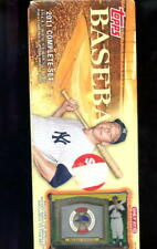 2011 Topps Baseball Card Complete Set FACTORY SEALED Box Target Mickey Mantle