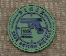 "PVC / Rubber Patch ""Glock Safe action Pistols"" with VELCRO® brand hook"
