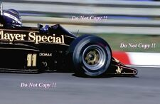 Johnny Dumfries JPS Team Lotus 98T F1 Season 1986 Photograph