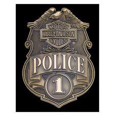 Harley Davidson Police Shield Magnet