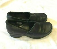 Keen Mary Jane Shoes Womens Size 7.5 EU 38 Black Leather Comfort Walking