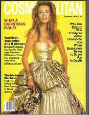 Frederique Cosmopolitan Revista 12/92 Madonna Nicolas Cage Marisa Tomei Pc